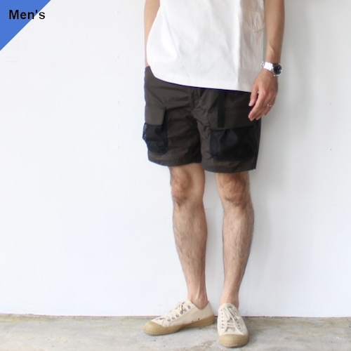 ENDS and MEANS エンズアンドミーンズ Utility Shorts EM-ST-P09 (AFRICAN BLACK)