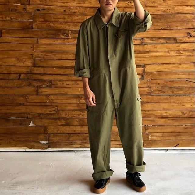 Topanga Men's オーバーサイズジャンプスーツ オリーブ