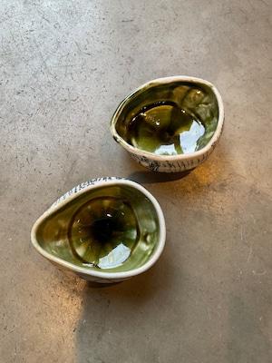 畑中圭介 パステルオリベ小鉢