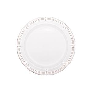 Koyo ラフィネ リムプレート 皿 約19.5cm スモークホワイト 15910106