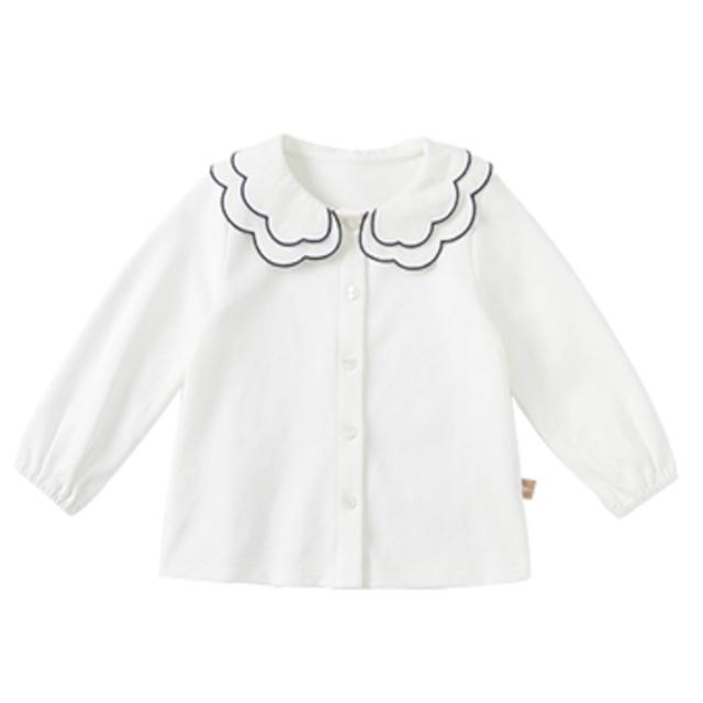 dave&bella2021AW新作♡パイピング襟ブラウス(66cm-130cm)  LeaLea...♡(レアレア)-海外の子供服セレクトショップ