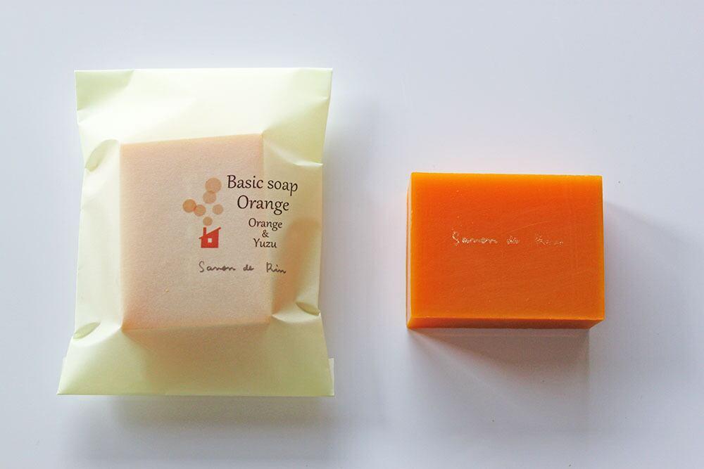 ベーシックソープ ・オレンジ 70g
