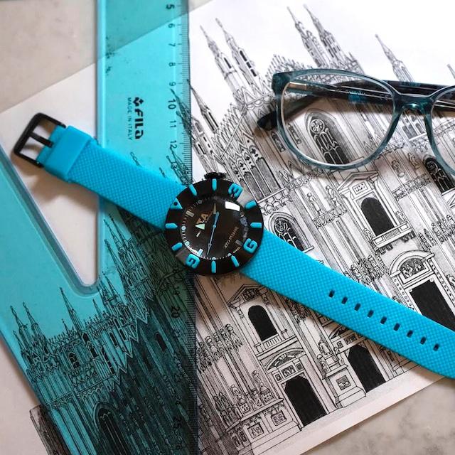 【I.T.A. アイティエー】DISCO VOLANTE ディスコ・ボランテ(ライトブルー)/国内正規品 腕時計