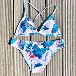 Bikini♡ボタニカルバッククロスビキニ GSB18S113MLC