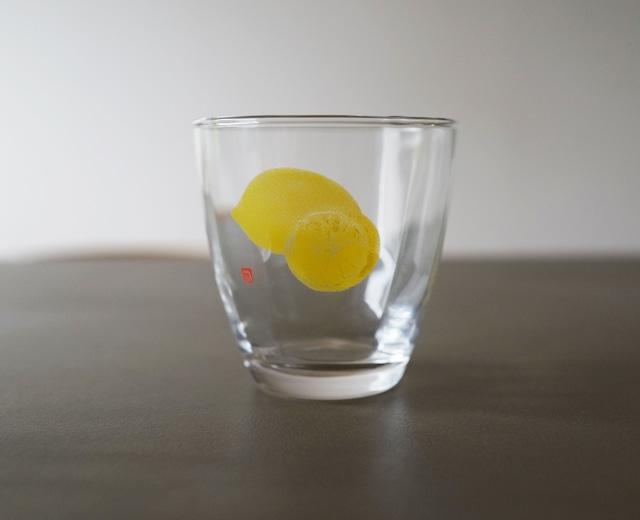 片岡鶴太郎 オリジナル ペアグラス 「檸檬」