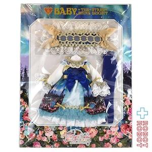 Dear Darling fashion for dolls BABY,THE STARS SHINE BRIGHT コラボドレス『月夜の森の AURORA Soirée (オーロラソワレ)』ブルー