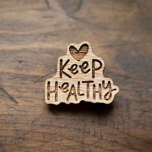 keep healthy / 健康維持(Brooch)