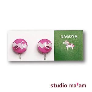 ■NAGOYA-05  イヤリング。まる。〜ピアス変更可〜