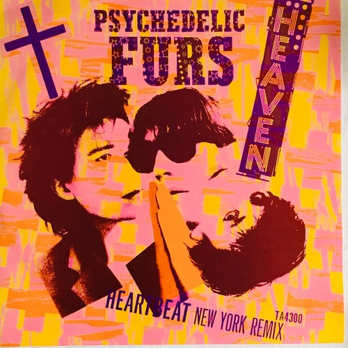 【12inch・英盤】The Psychedelic Furs / Heaven (Full Length Version)