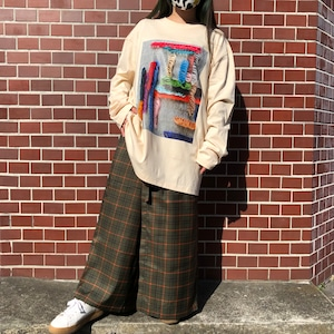 Loop stitch Long sleeve shirt
