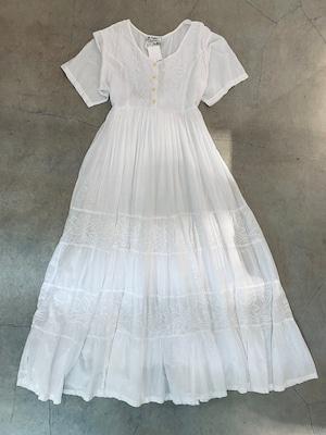 100% cotton vintage white onepiece