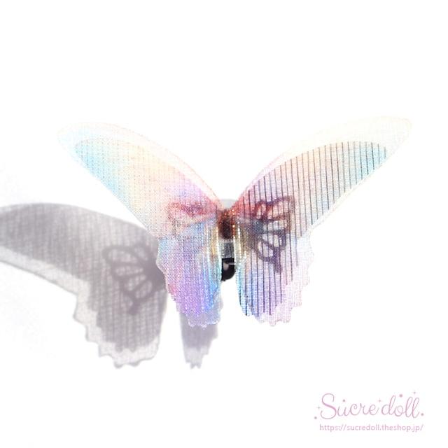 [彩虹] 胡蝶の夢 ヘアクリップ