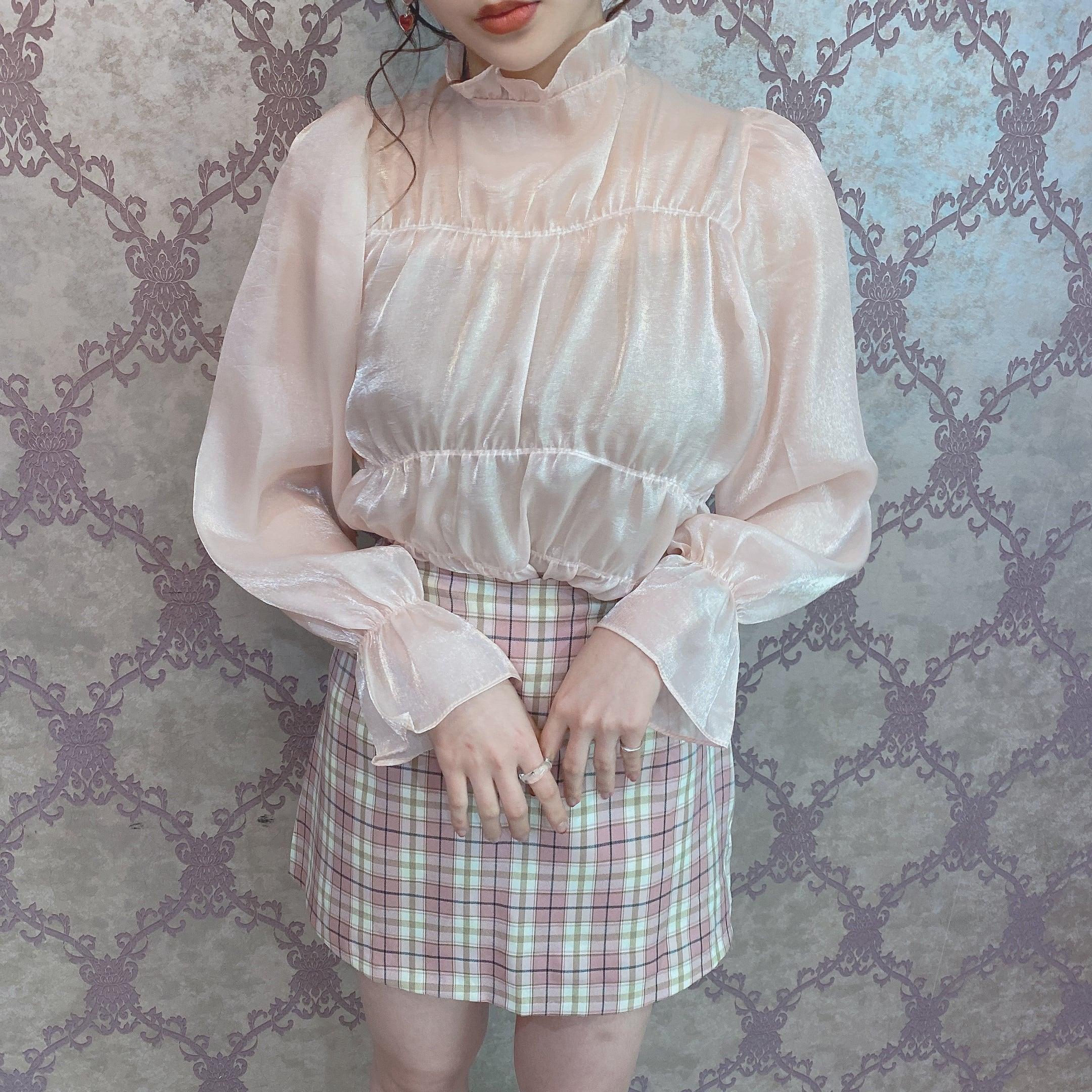 【ViVi掲載】lovely sheer blouse
