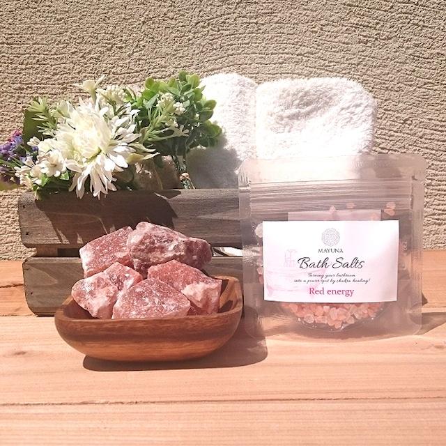 Mayuna Bath Salt  マユナバスソルト レッドエナジー 50g