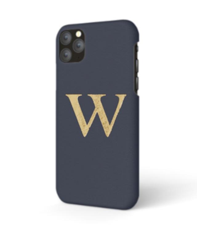 iPhone Premium Smooth Leather Case (Midnight Blue)