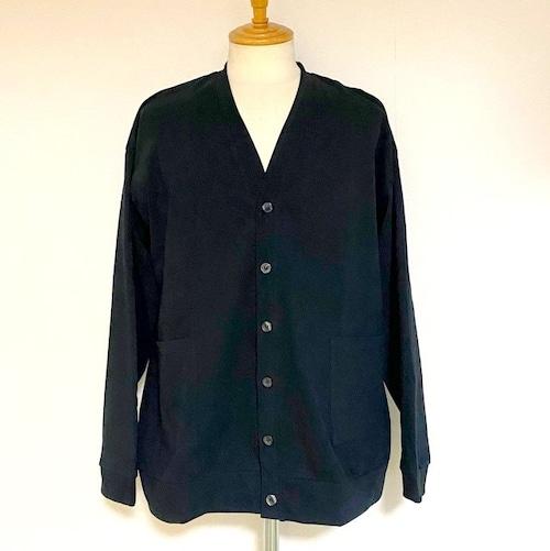 Loose Silhouette Cut & Sewn Cardigan Black