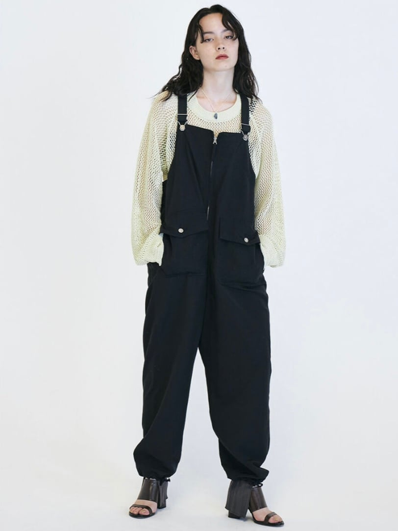 【FILL THE BILL】R/N MILITARY GROSGRAIN OVERALL