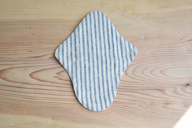 茜染め 布ナプキン Sサイズ