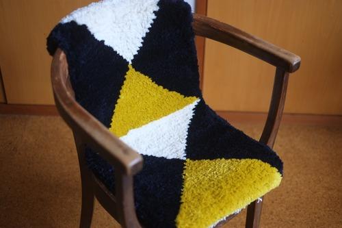 08【佐藤さんのノッティング】◆2倍サイズ◆ペチカ別注『手織り』◆◆NEW!