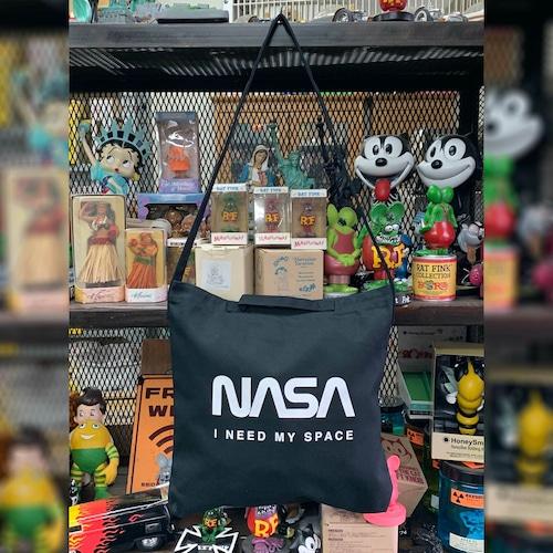 NASA公認(アメリカ航空宇宙局)・2ウェイ・ショルダーバッグ・ロゴタイプ(ワーム)