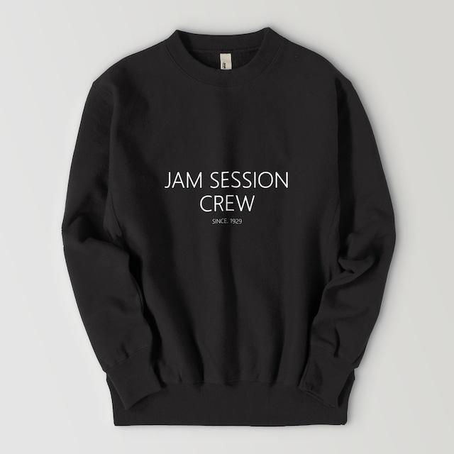 JAM SESSION CREW SWEAT (BLACK)