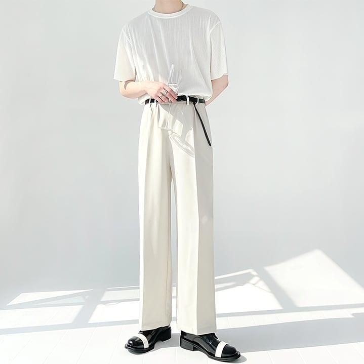 Anti-wrinkle drape pants   b-375