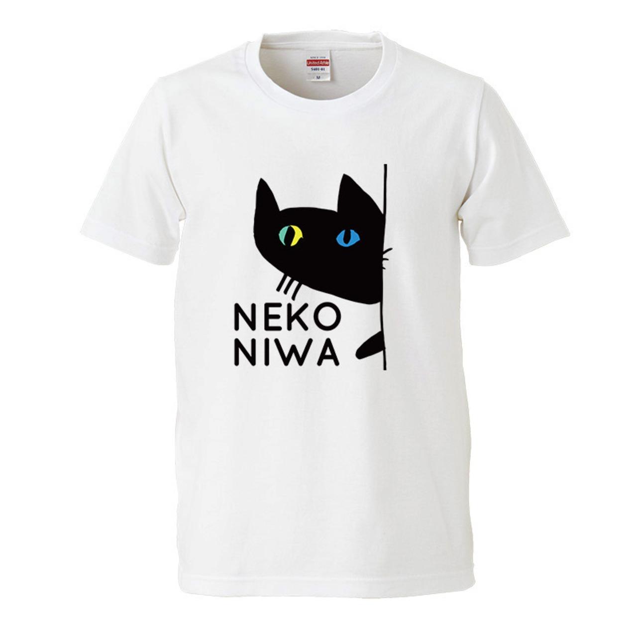 【猫庭Tシャツ】オッドアイ 全国送料無料!!
