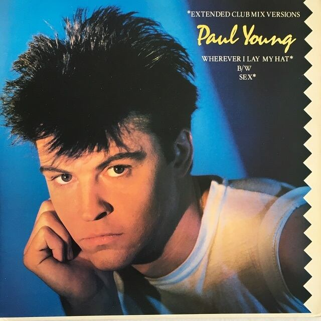 【12inch・米盤】Paul Young  /  Wherever I Lay My Hat (Extended Club Mix Versions)
