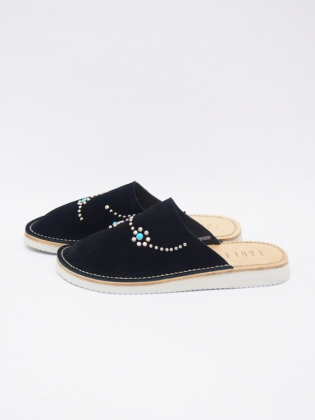 EARLE (アール) In-out slipper / インアウトスリッパー / BLACK ER1302-2