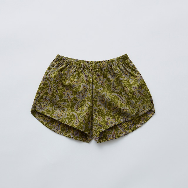Last one 130!eLfinFolk Arabian paisley jogging pants(olive) 110 130  elf-211F31 ※メール便1点までOK