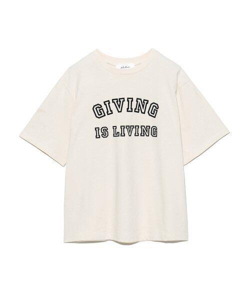 Mila Owen フロッキープリントTシャツ