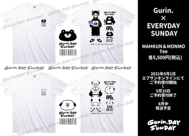 【受付終了しました】Gurin.×EVERYDAY SUNDAY まーくん&モンモTee【Gurin.DAY SUNDAY】