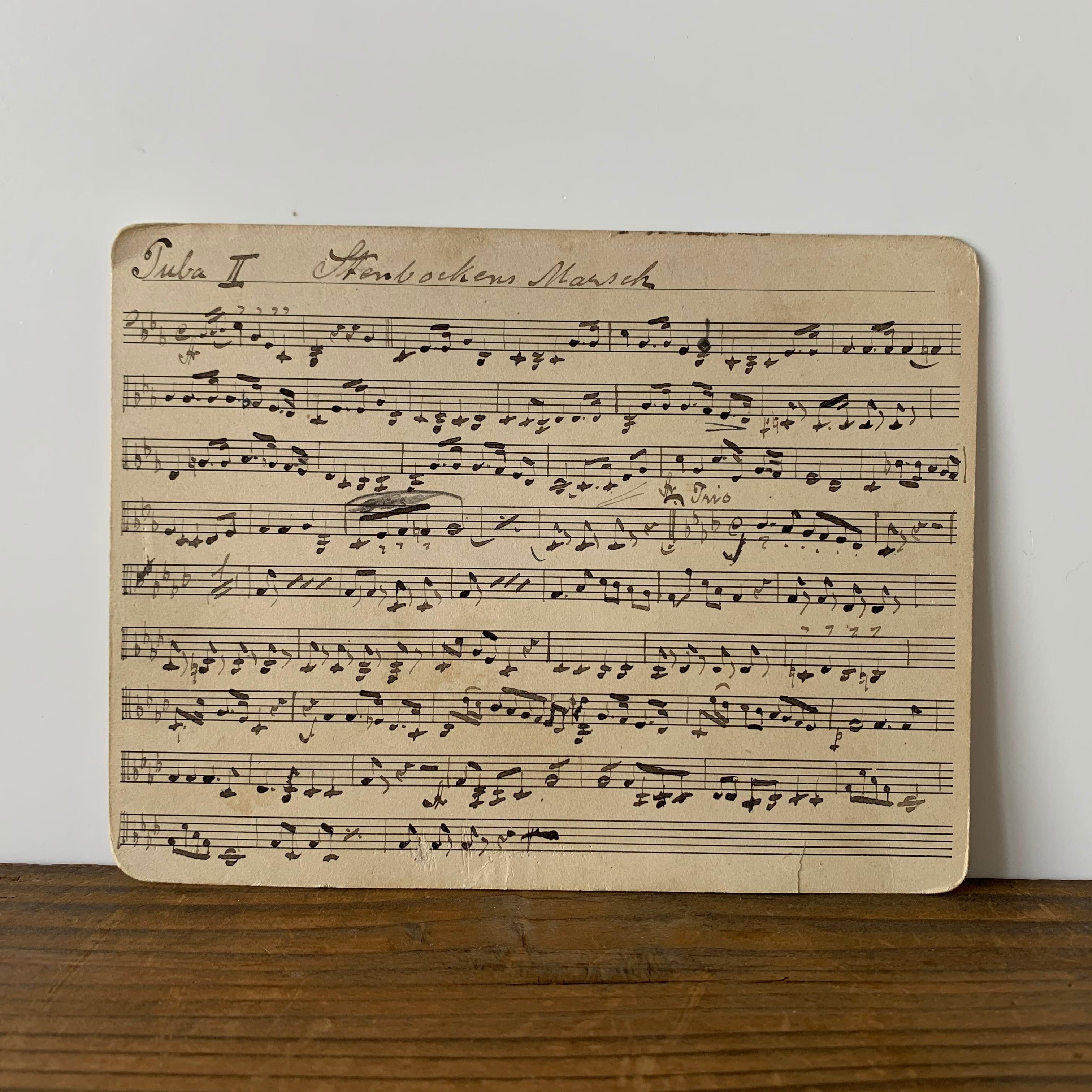 Sheet Music No.9