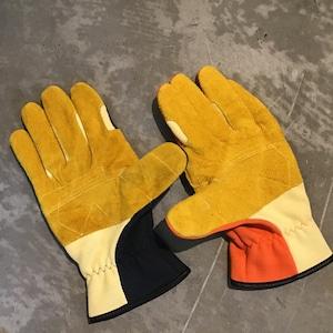 TONBOREX  ケプラー製手袋 ネービー オレンジ K-346
