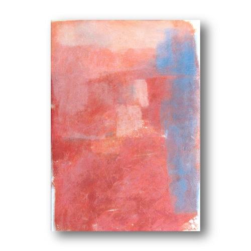 【送料無料】絵画作品タイトル「秋‐夕日に照らされたビル‐」キャンバス すぐに飾れる 購入後すぐに飾れる