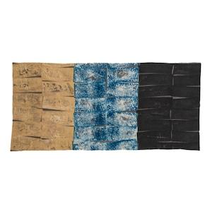 ブロックプリント 向井詩織 No.2 インドの伝統工芸品 51×111cm