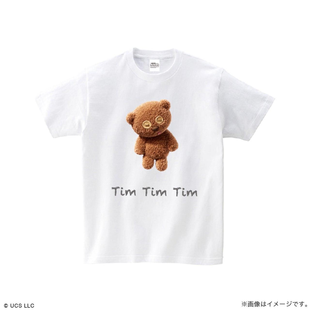 キッズTシャツ/ミニオン(Tim ホワイト)【MINIONS POP UP STORE 限定】