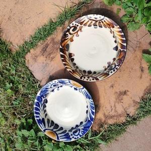 5寸皿平皿/菊唐草