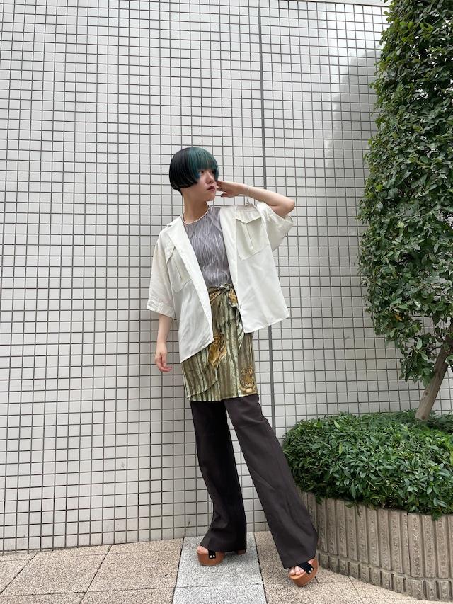 tiger pattern design skirt / 7SSSK20-01