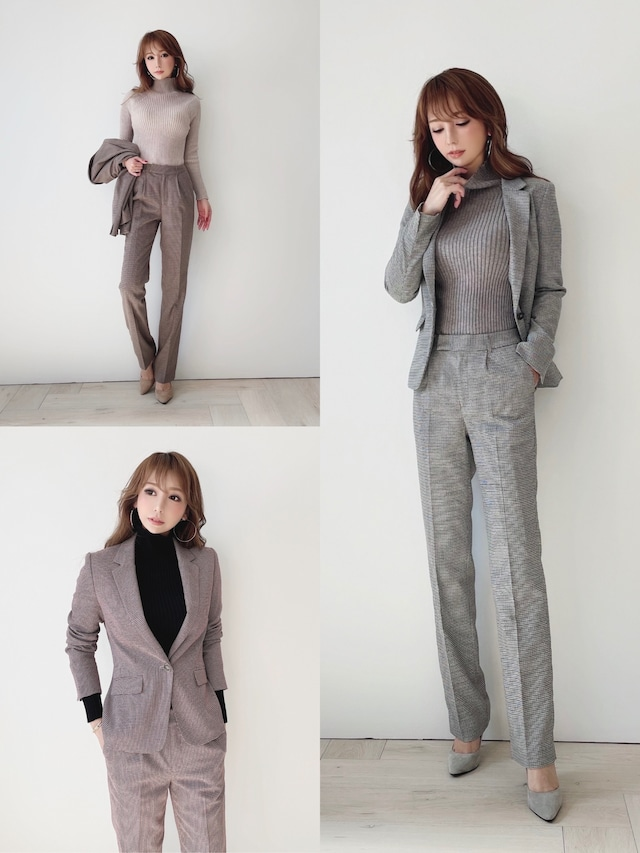 mocoa'sパンツスーツ ¥16,800+tax