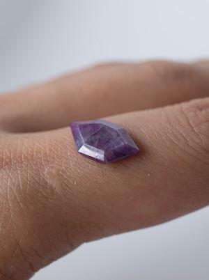 Trapiche Pink Sapphire / Kashmir -019
