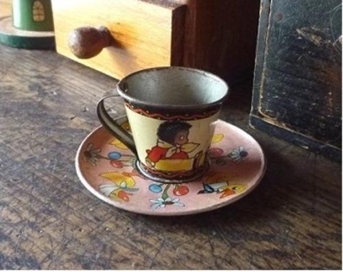 おもちゃのカップ&ソーサー おままごと アンティーク UK イギリス