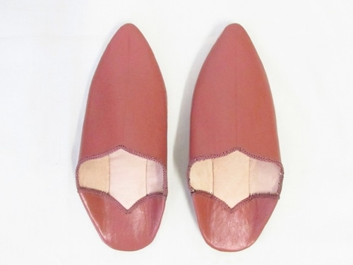 MOROCCAN POINTED BABOUCHE(BB001TR:シューズ袋付)