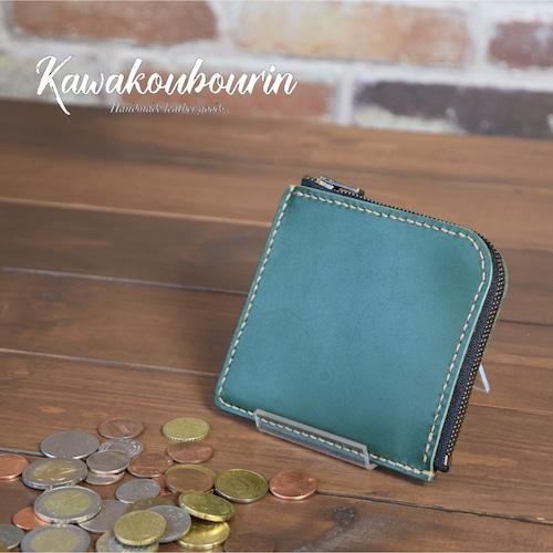 【受注制作】L型ファスナー ミニ財布 (KA007b3-10)
