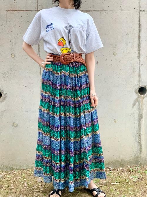 Vintage Indian Cotton Skirt ②