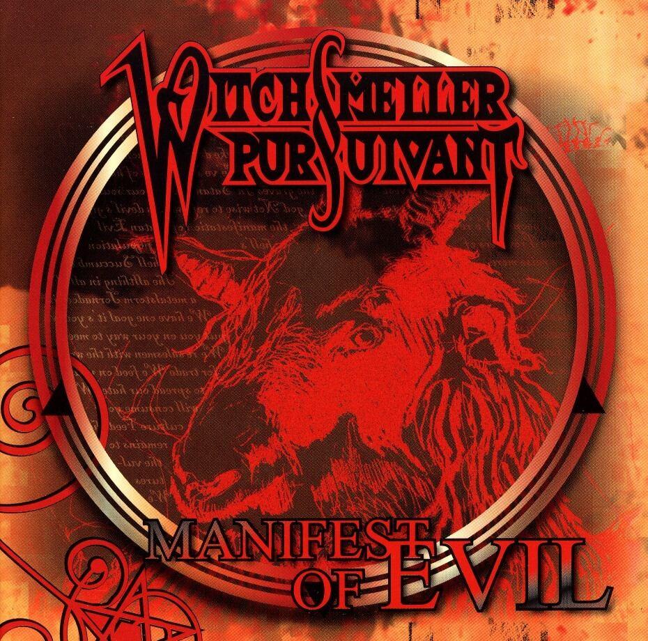 """WITCHSMELLER PURSUIVANT """"Manifest of Evil""""  (輸入盤)"""
