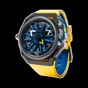 【MAZZUCATO マッツカート】RIM-06(イエロー×ブルー)/国内正規品 腕時計