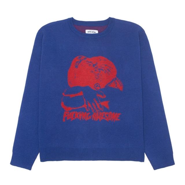Fucking Awesome|Embrace Jacquard Sweater