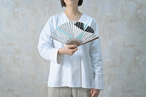 [Women's  (small size)] UMO#3 そら色 Sorairo 扇子