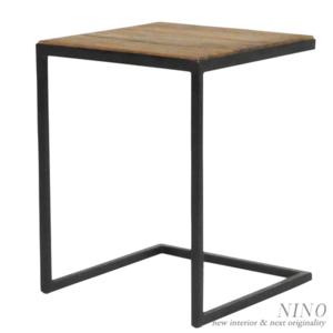 アイアンフレームサイドテーブル